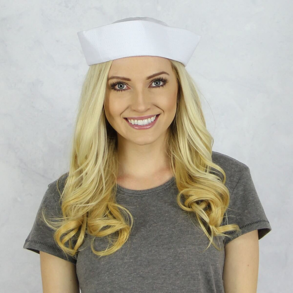 Delta Gamma Sailor Hat Back