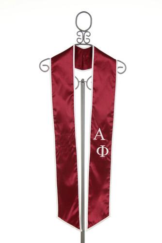 Alpha Phi Graduation Stole