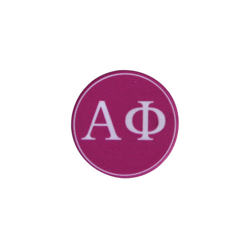 Alpha Phi Phone Grip in Hot Pink Top