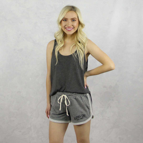 Alpha Chi Omega Shorts in Grey