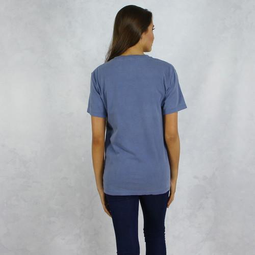 Gamma Phi Beta Comfort Colors Pocket T-Shirt Back
