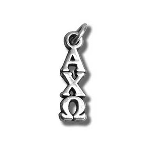 Alpha Chi Omega Silver Lavalier