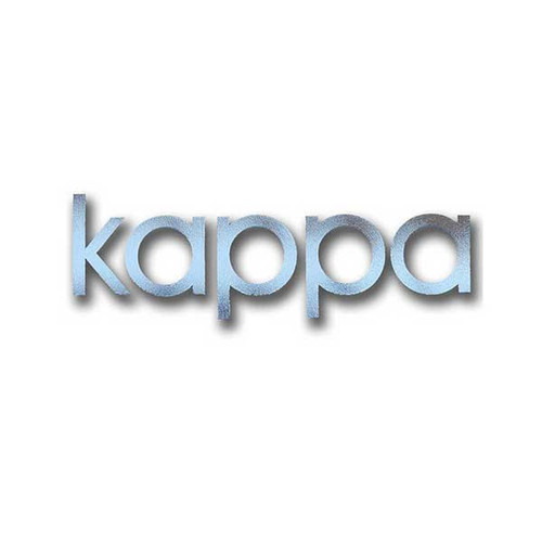 Kappa Kappa Gamma Sticker in Silver