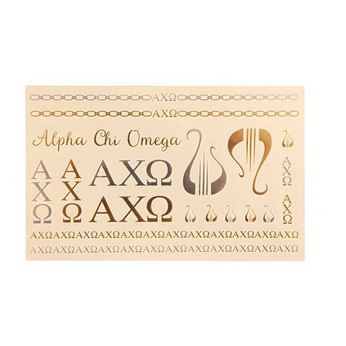 Alpha Chi Omega Flash Tats