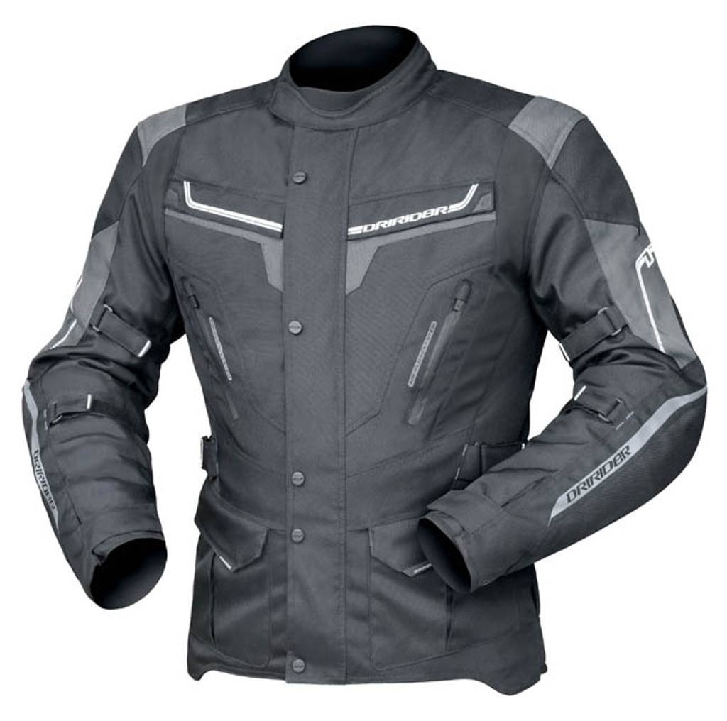Dririder Apex 5 Jacket Blk/Grey