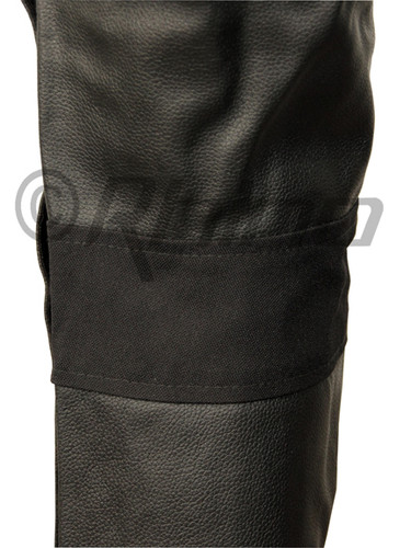 Atomic - Mens Black Leather Biker Pants