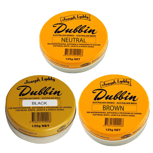 Dubbin Black, Brown & Neutral - 125g
