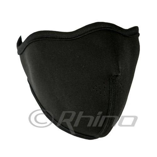 Black Neoprene Thermal Half Face Mask