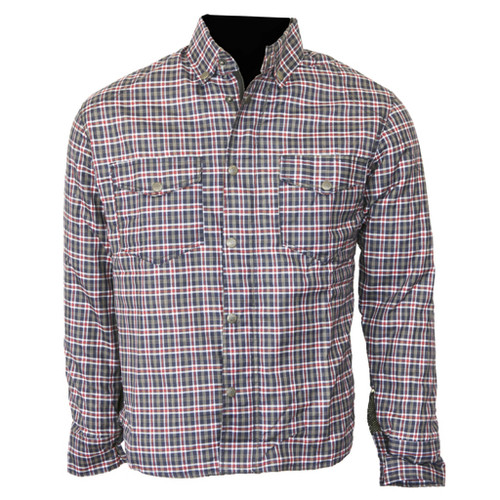 Fully lined protective motorcycle shirt