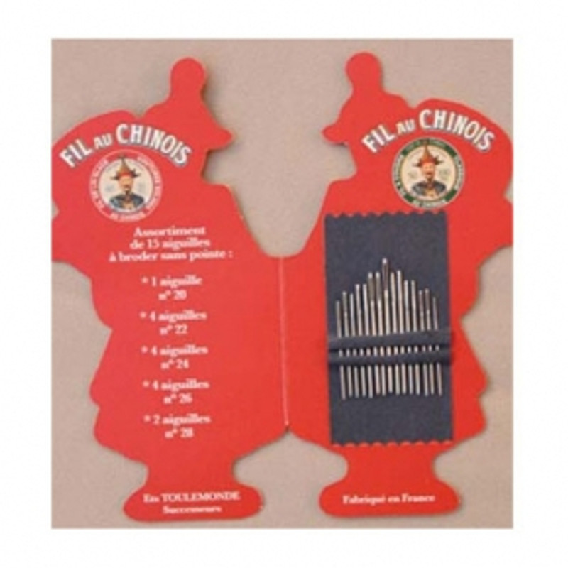Fil Au Chinois Folding Embroidery Needle Booklet