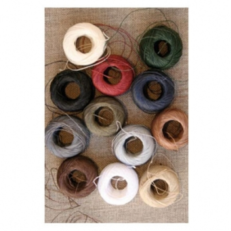 Fil Au Chinois Linen Thread Capsules - Set of 12