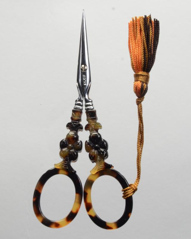 Tortoiseshell Scissors - Flower Model