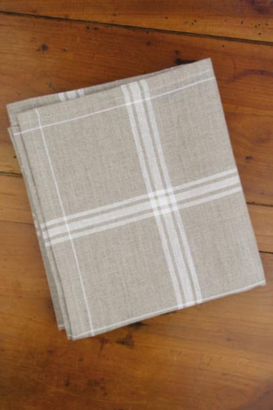 White (Blanc) French Linen Tea Towels