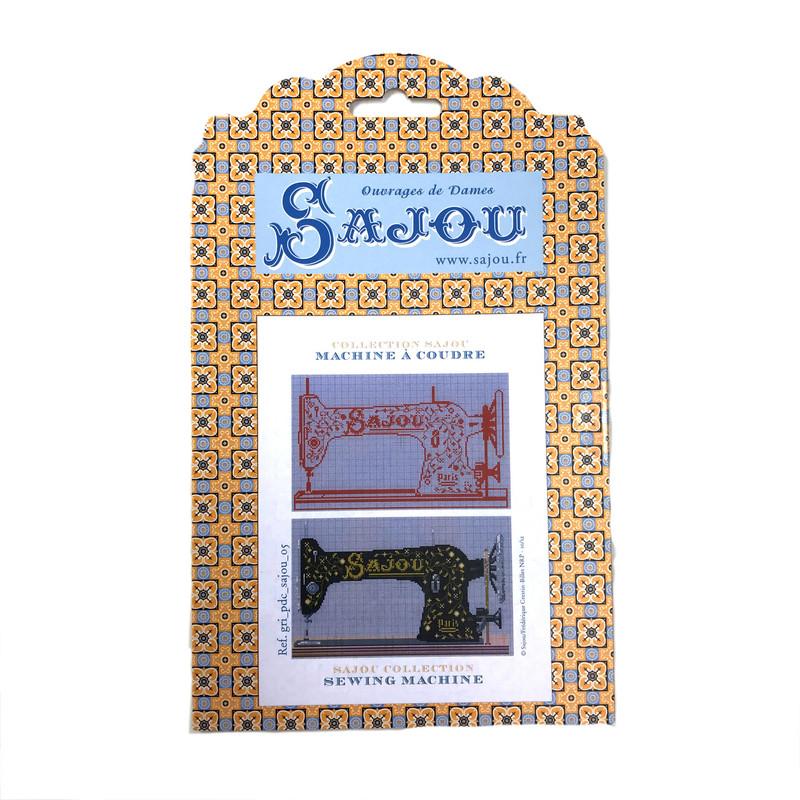 Cross Stitch Pattern - Vintage Sewing Machine