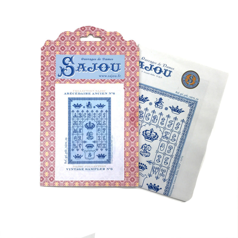 Cross Stitch Pattern - Vintage Sampler 6