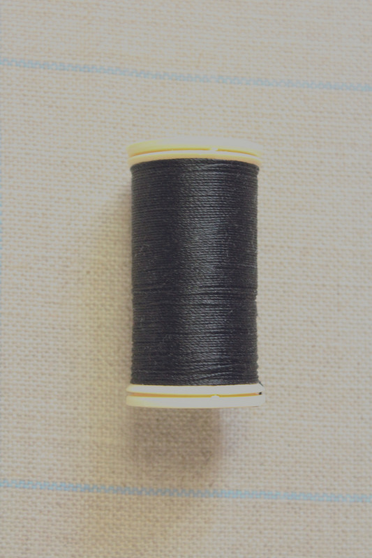 Silk Thread Spool - Black