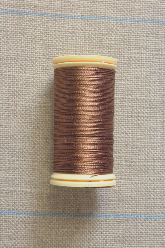 Silk Thread Spool - Brown Bear