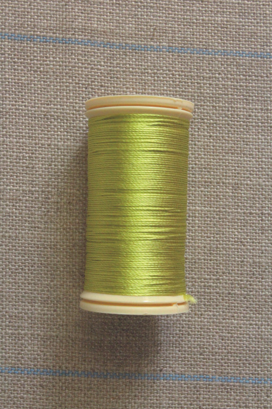 Silk Thread Spool - Lime Green