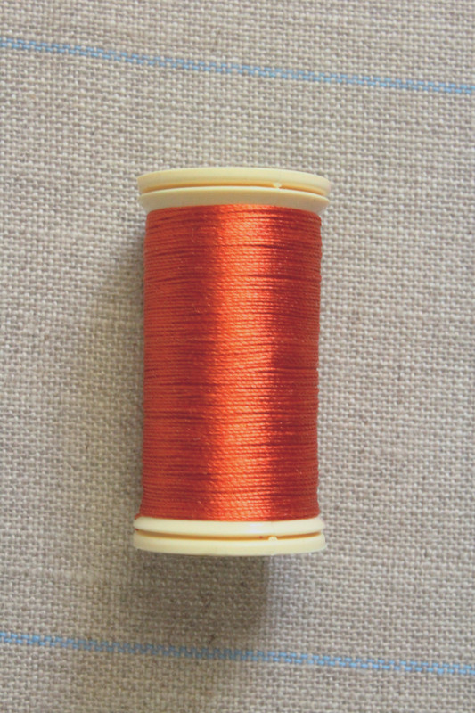 Silk Thread Spool - Copper