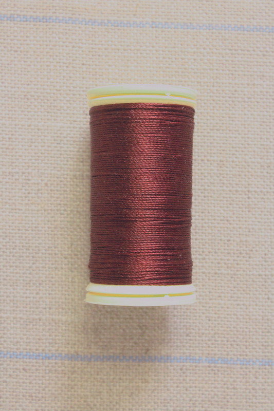 Silk Thread Spool - Burgundy