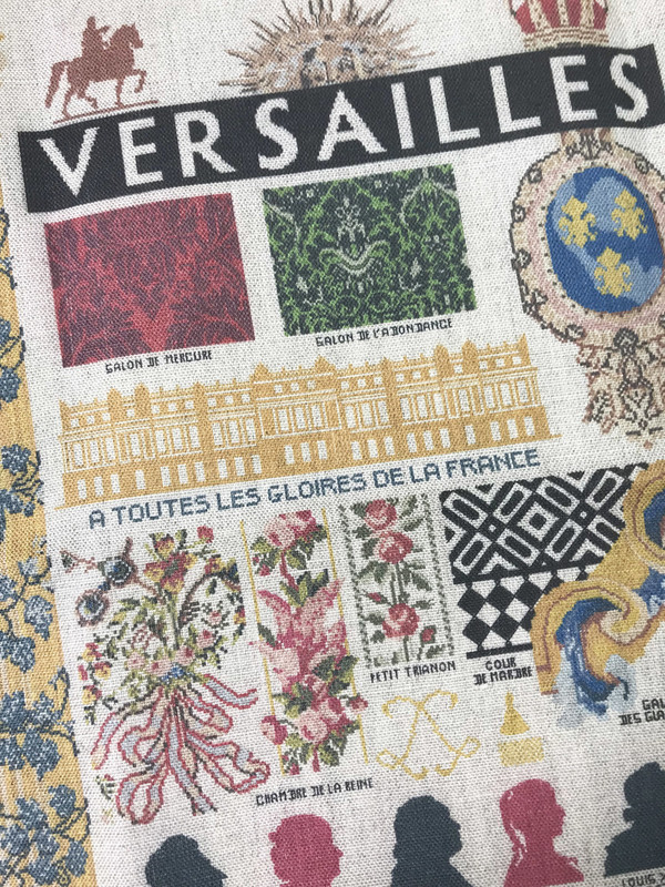 Sajou French Linen Tea Towels - Versailles