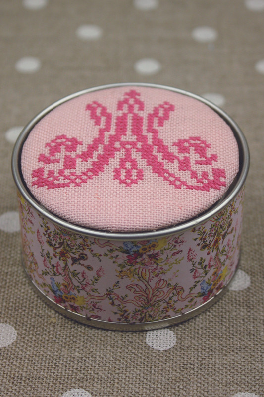 Sajou Cross Stitch Kit - Marie-Antoinette Monogram