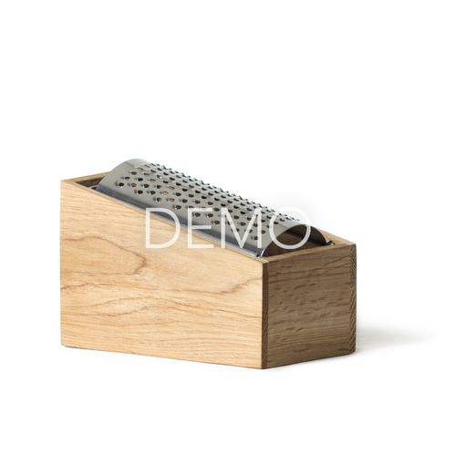 Electronic Oak Cheese Grater