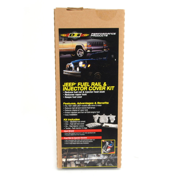 Jeep Fuel Rail & Injector Cover Kit