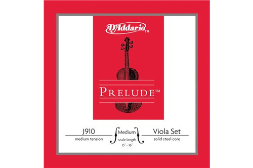 D'Addario Prelude Set for Viola J910 - Medium 15-16""
