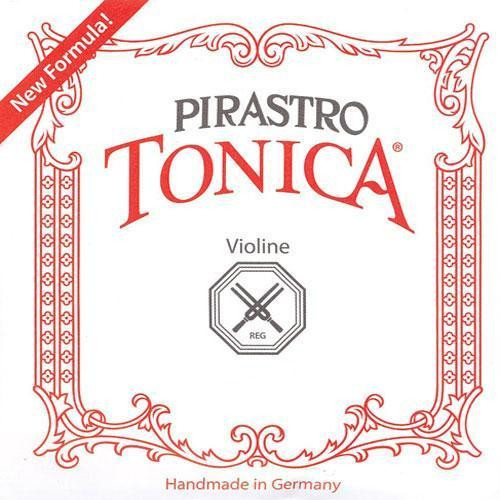 Pirastro Tonica Violin Strings Set - 3/4 - 1/2, Ball E