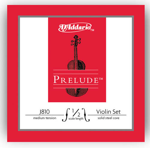 D'Addario Prelude Violin Strings Set - 1/2
