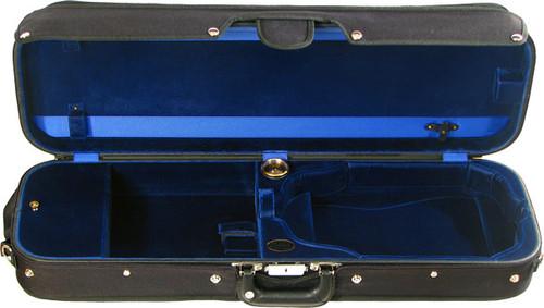Bobelock Oblong Violin Case with Suspension - Velvet - Blue