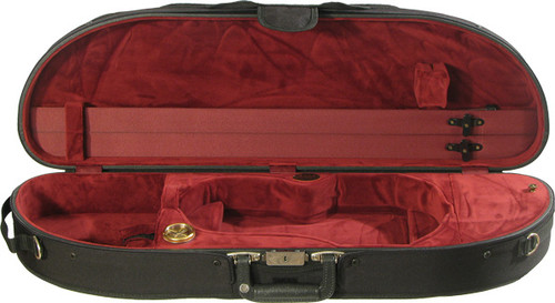 Bobelock Moon Violin Case - Velour - Wine