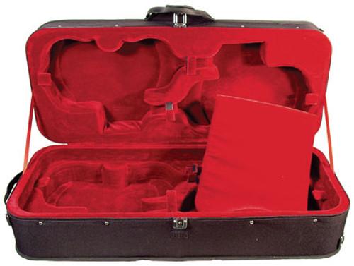 Core Quad Violin Case - Back-ordered till August 2017 (Black Velour Only)