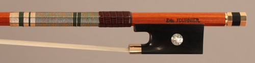 Eric Fournier Gold-Mounted Violin Bow