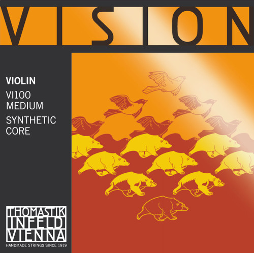 Vision Strings Set for Violin VI100 - 4/4