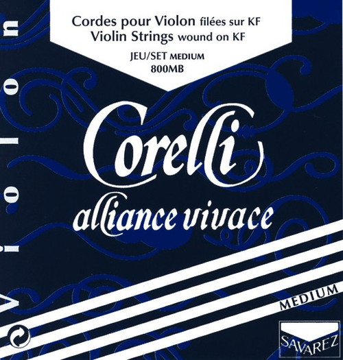 Corelli Alliance Vivace Violin Strings Set