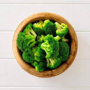 Broccoli Side Portion High Angle