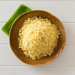 Couscous Side Portion High Angle