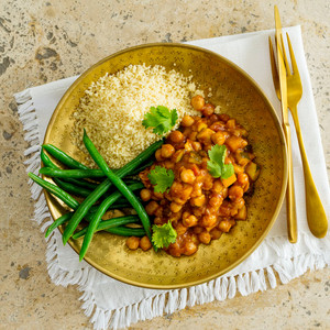Moroccan Chickpea Curry