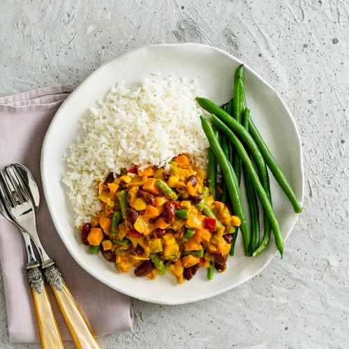 Veggie & Bean Curry