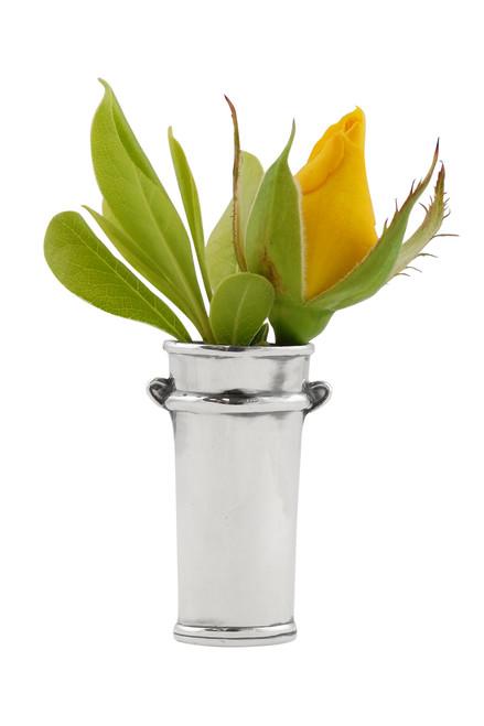 Flower Bucket Vase Lapel Pin