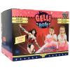 Wonder Woman Pink Glitter Gelli Baff CDU (closed)