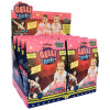 Wonder Woman Pink Glitter Gelli Baff CDU (open)