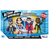 ACTION BENDALBES! - 4pc Justice League Set (old packaging)