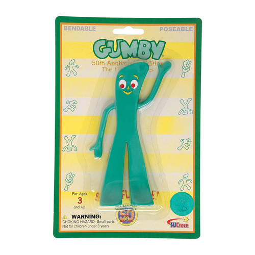 Retro Gumby 6 inch Bendable