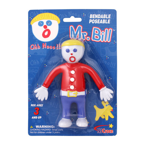 Mr. Bill 5 inch Bendable in Blister Card