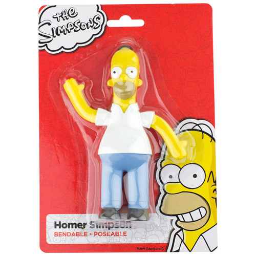 Homer Simpson 6 inch Bendable