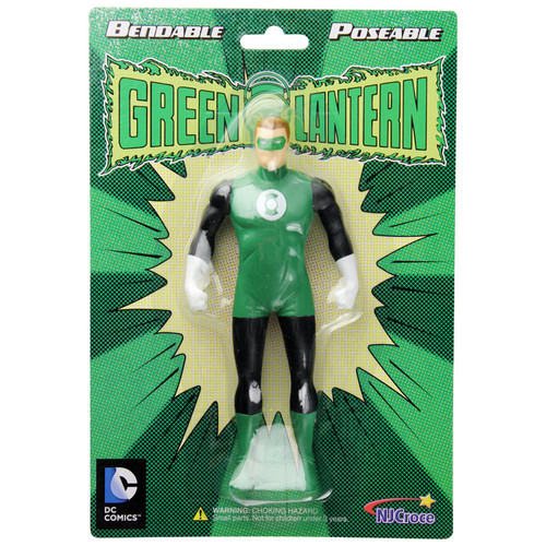 The Green Lantern Bendable Figure - Old packaging