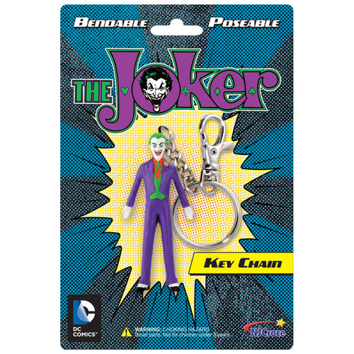 The Joker 3in Bendable Key Chain